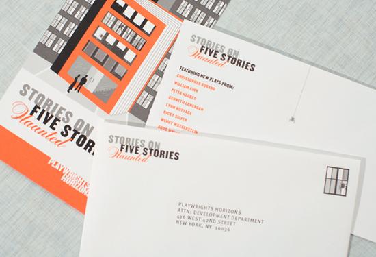 Envelope Marketing - Playwrights Horizon
