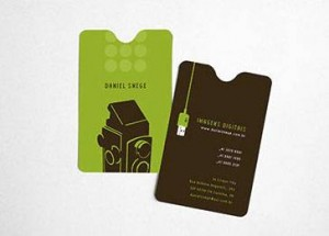 Photography Marketing - Daniel Snege Business Card