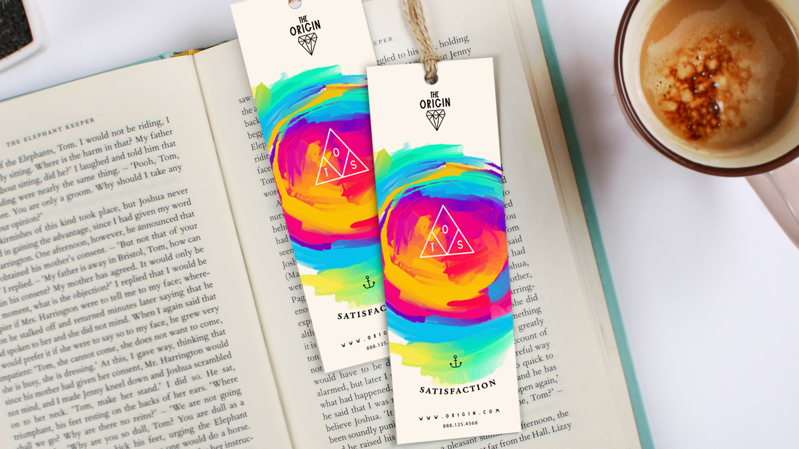 Bookmark in a book