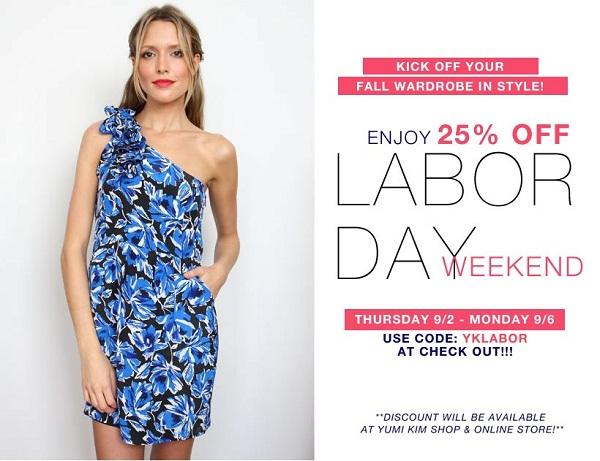Marketing Ideas for Labor Day - Yumi Kim Shop & Online Store