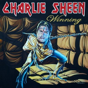 Charlie Sheen Winning and Stay Puft