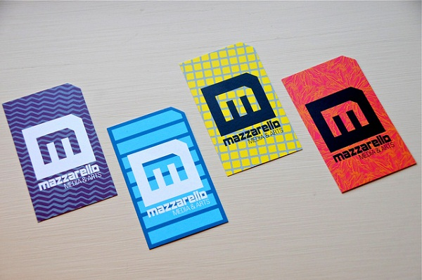 Business Cards by Mazzarello Media and Arts at Flickr.
