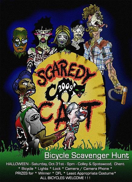 Scaredy Cat 2009 Flyer