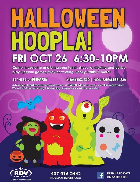 Halloween Hoopla Flyer