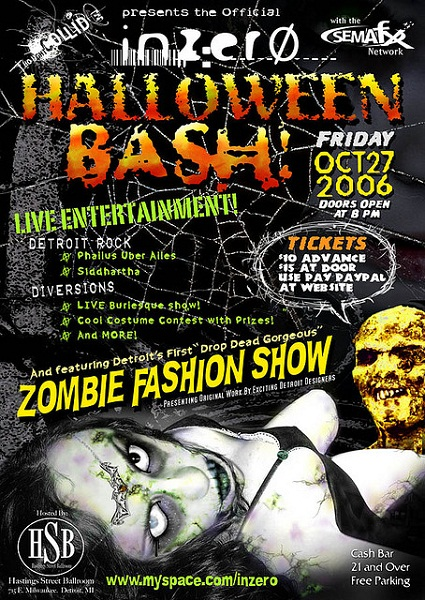 Halloween Bash Flyer by Stephen Boyle