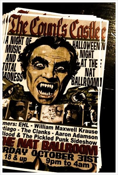The Count's Castle Flyer