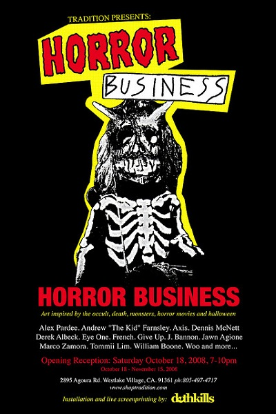 Horror Business @ Tradition