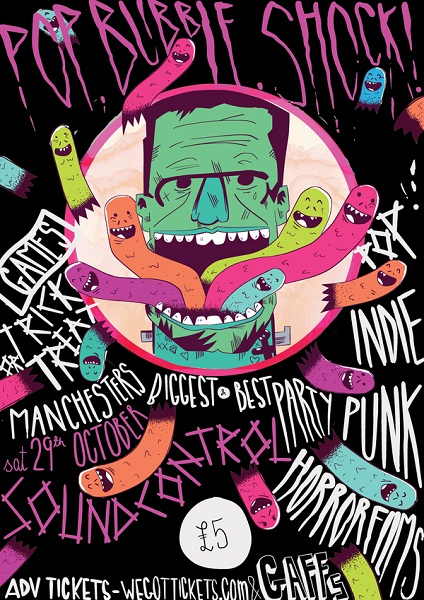 PBR Halloween Poster