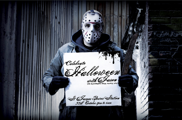 Celebrate Halloween with Jason Flyer