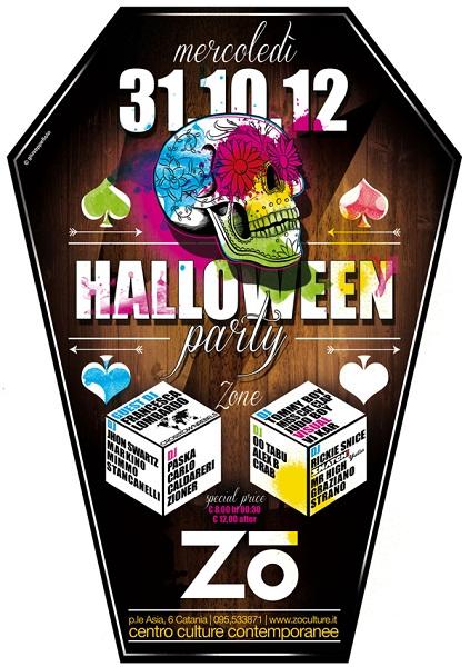 HALLOWEEN 2012 Flyer by giuseppe fiolo