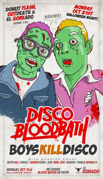 Disco Bloodbath by Pablo Stanley
