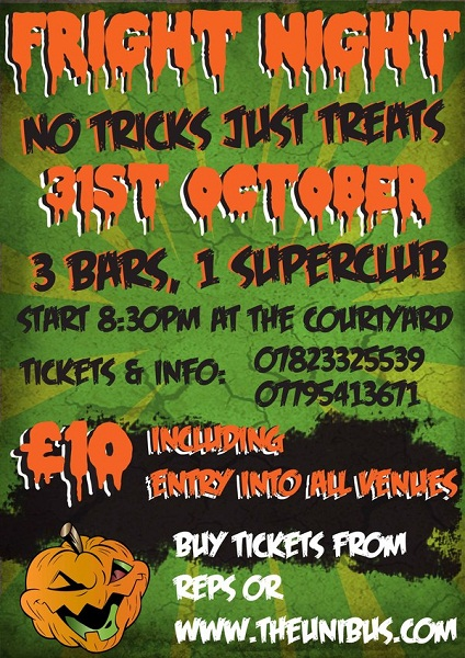 Halloween Club Flyer