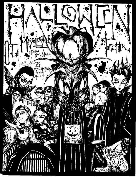Halloween Flyer by ArtiSin
