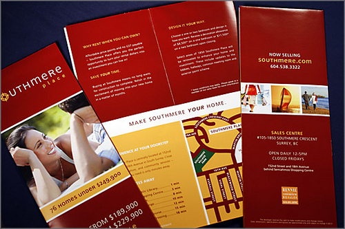 Southmere Brochure Design