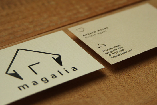 Magalia Business Card Design