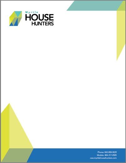 Myrtle Letterhead Design