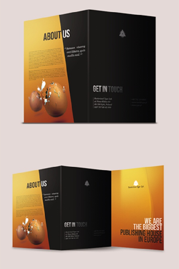 A collection of creative and inspiring brochure photoshop for How to design a brochure in photoshop