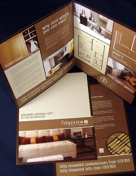 Ridgeview Brochure Design