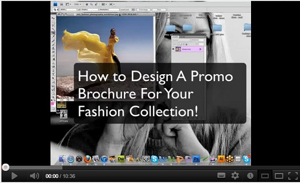Photoshop Tutorial How to Make a Fashion Brochure