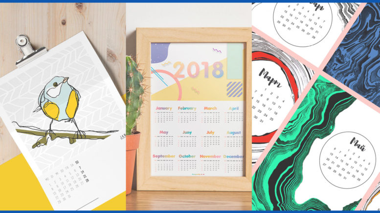 Corporate Calendar Theme Ideas : Stunning calendar designs for inspiration updated