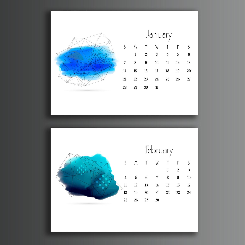 Calendar Design A : Stunning calendar designs for inspiration updated