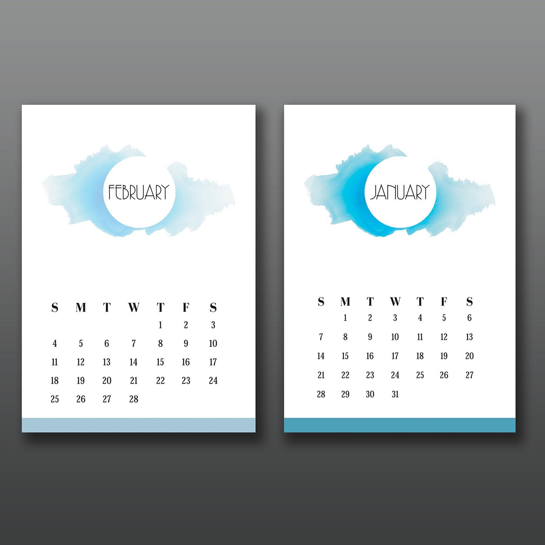 Calendar Design Ideas Ks : Stunning calendar designs for inspiration updated
