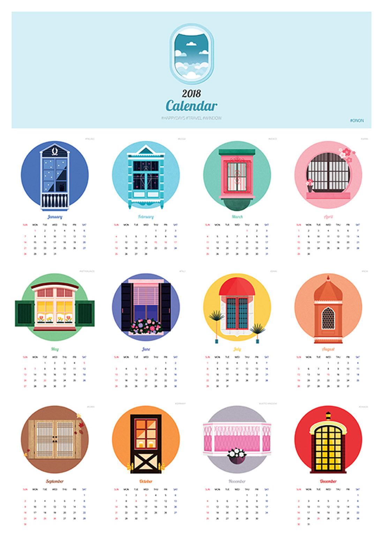 Calendar Design 10