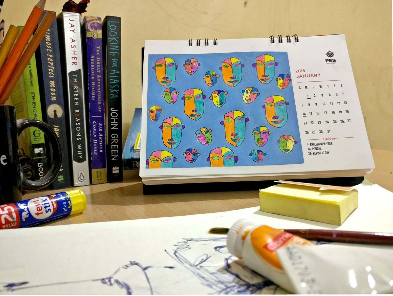 Calendar Design 14