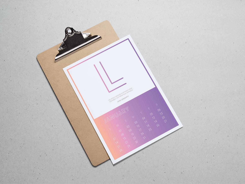 Calendar Design 17