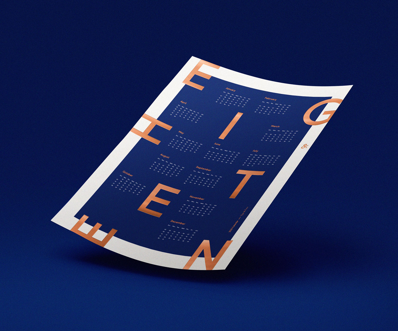 Calendar Design 19