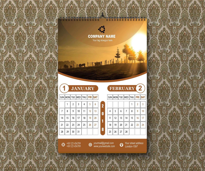 Calendar Design 23