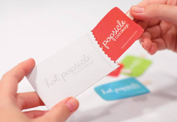 Hot Popsicle Business Card
