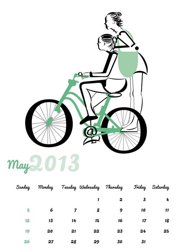 Type Calendar 2013