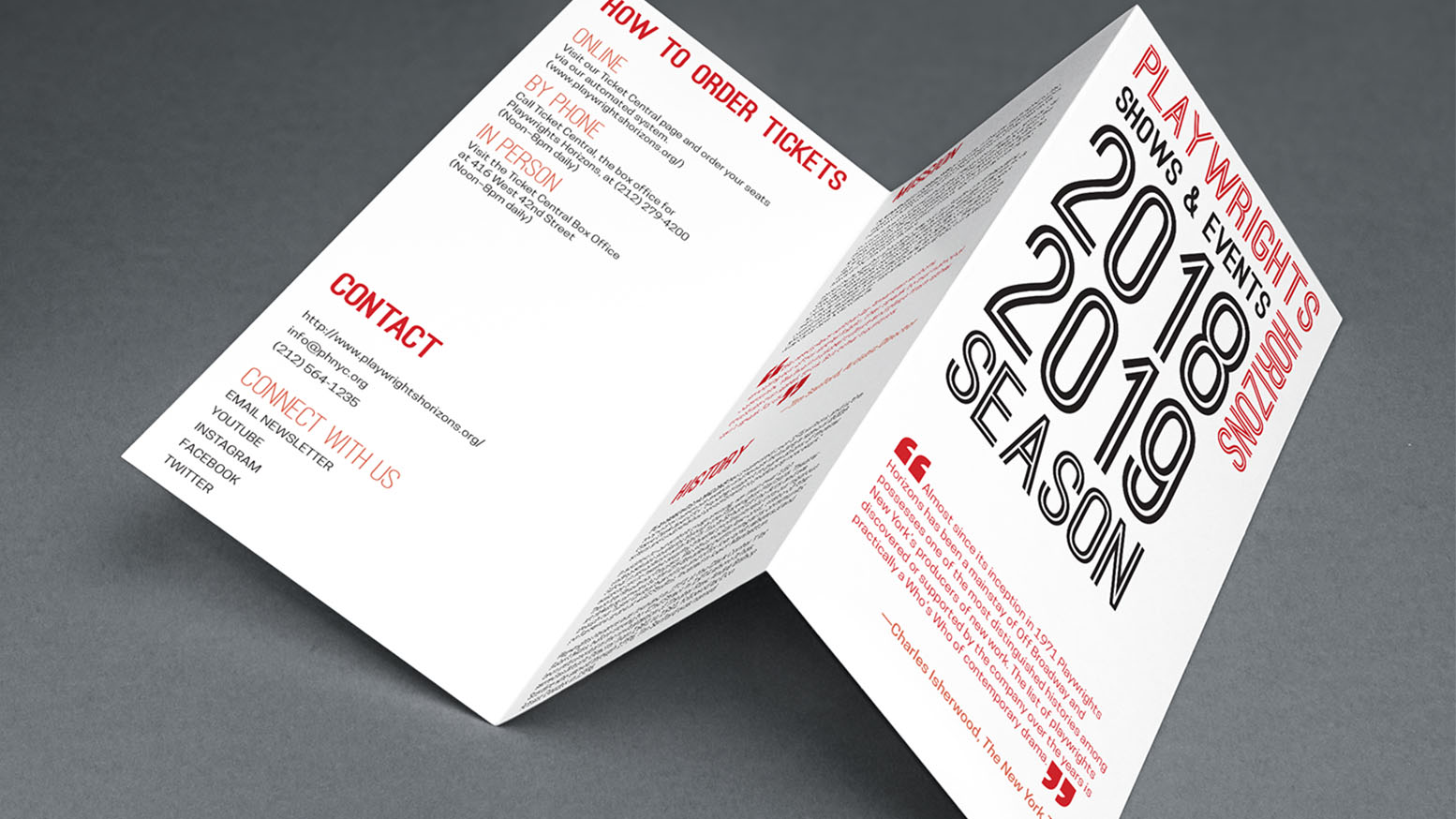 Typography Brochure 1