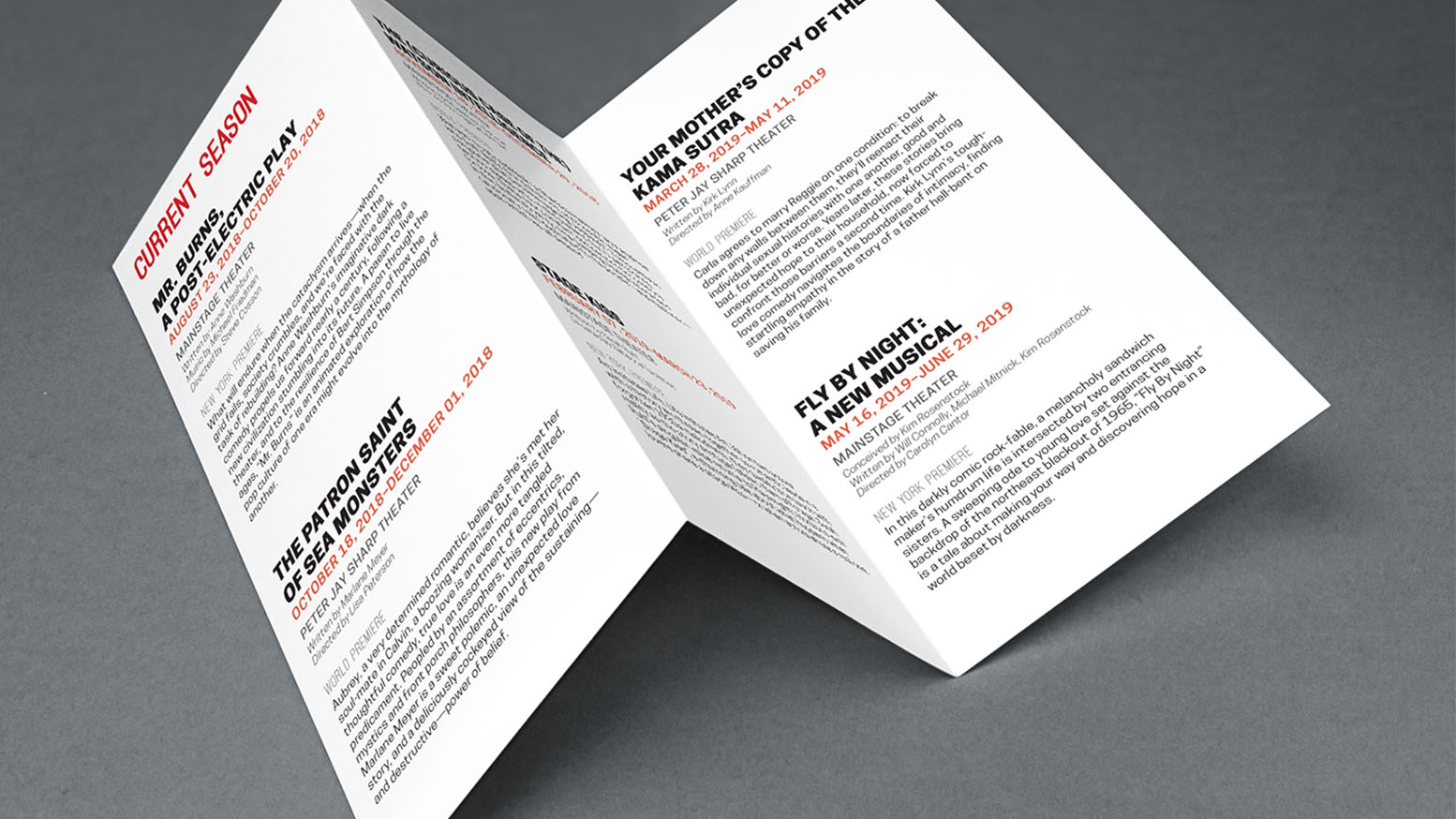 Typography Brochure 2