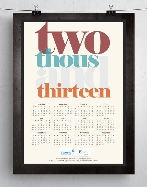 Celeste 2013 Calendar