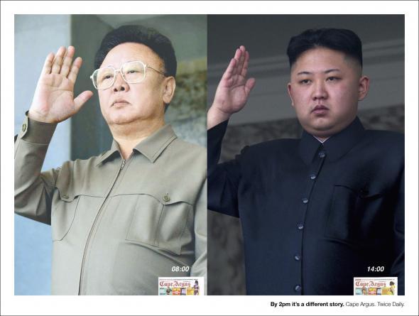 Cape Argus: Kim Jong