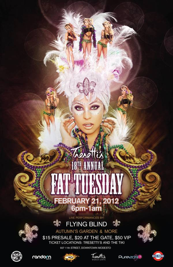 Tresetti's Fat Tuesday Poster