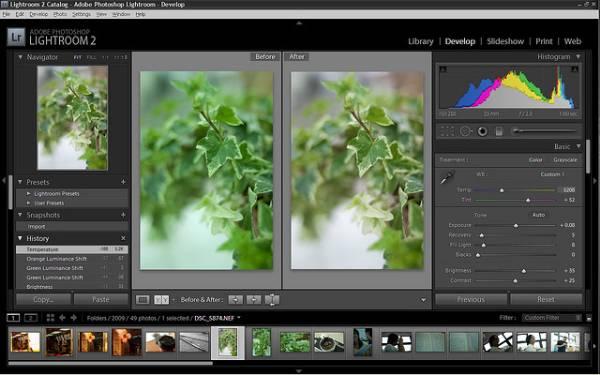 Adobe Photoshop Llightroom