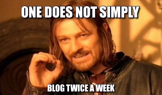 #1 Challenge of Content Marketing via Blog