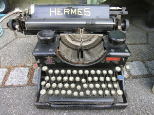 TypewriterHermes - Via Wikipedia Commons