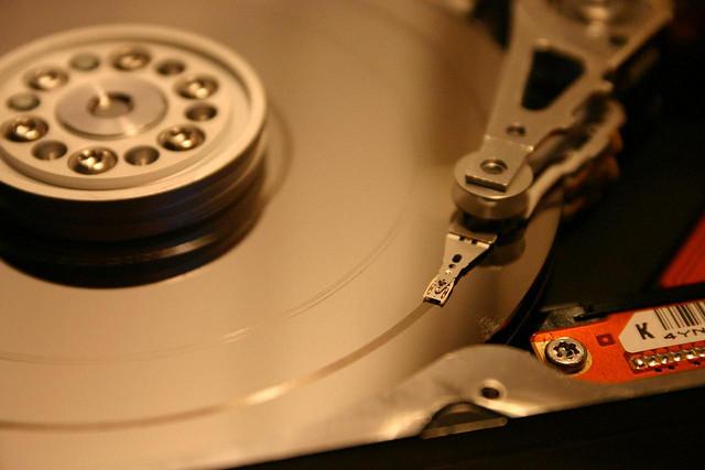 Hard Disk: barnoid via photopin cc