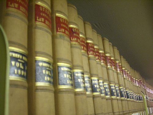 Law Books: umjanedoan via photopin cc