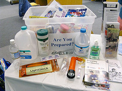 Disaster Preparedness Kit: srqpix via photopin cc