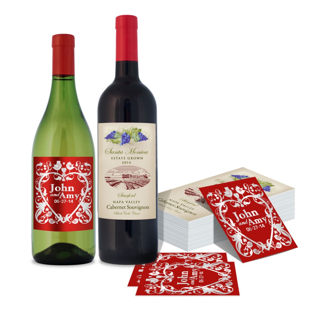 Cut-to-Size Wine Label