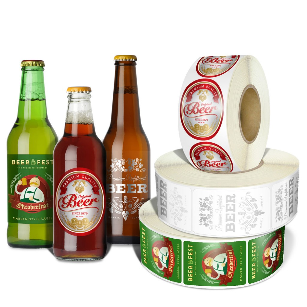 Roll Beer Label