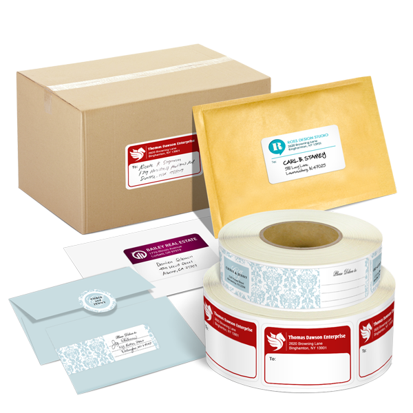 Roll Shipping & Mailing Labels