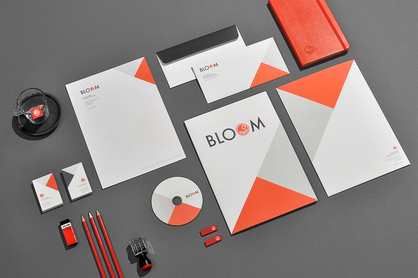 50 inspiring examples of corporate identity and branding for Graphic design consultant