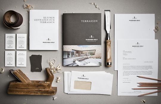 Corporate Identity Design - Mareiner Holz