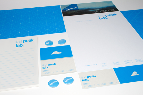 Corporate Identity - The Peak Lab